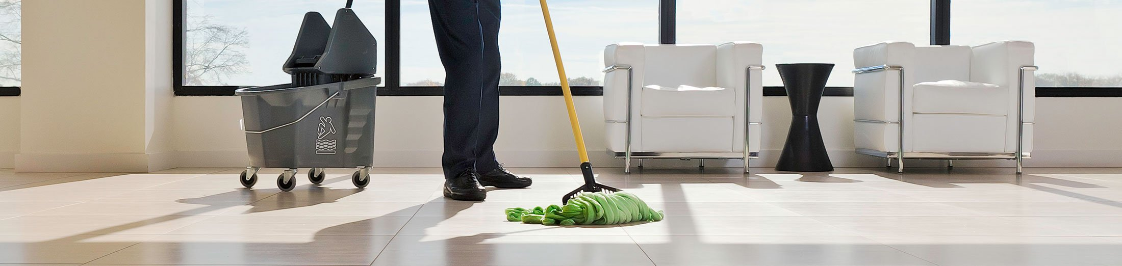 mopping home